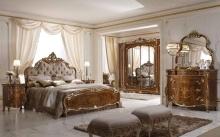 Мебель для спальни в цвете орех Alberto Mario Ghezzani -Monnalisa