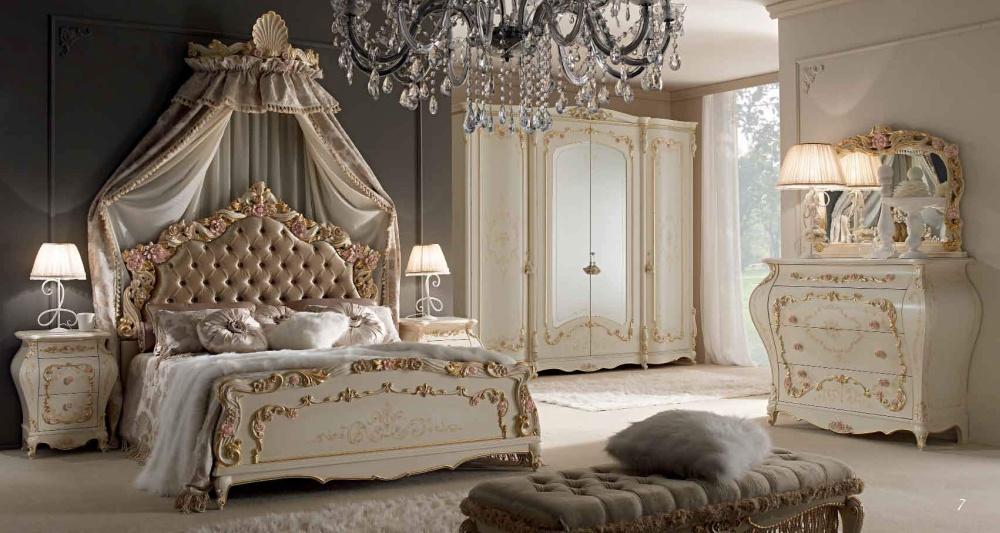 Мебель для спальни с цветочным декором Alberto Mario Ghezzani Venezia