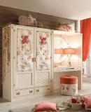 Шкаф с декоративными мягкими вставками Caroti Stella Marina