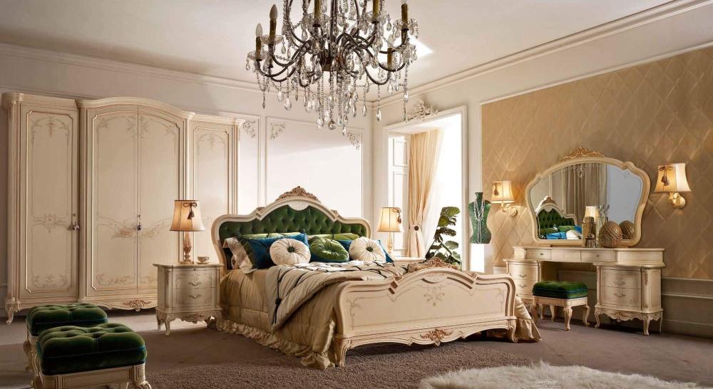 Кровать с мягким изголовьем Valderamobili - Casa Principe