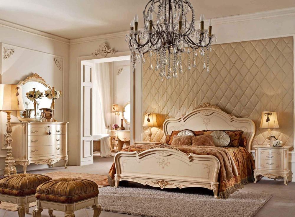 Спальня в цвете слоновая кость Valderamobili - Casa Principe