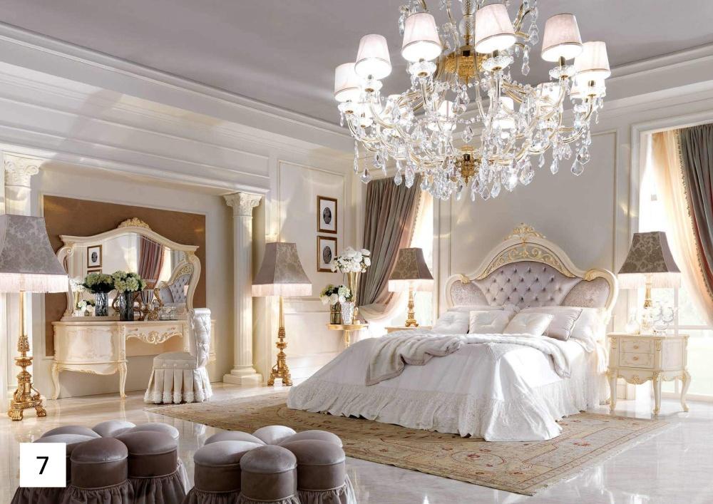 Светлая мебель для спальни Barnini Oseo David