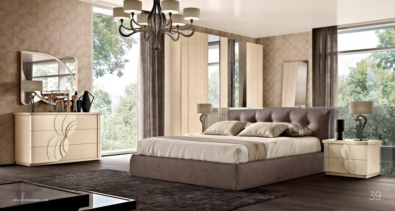 Спальня с мягким изголовьем Grilli - Cloe