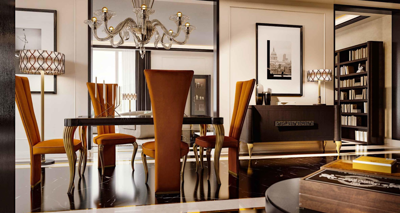 Стол со стульями Valderamobili - Citrino