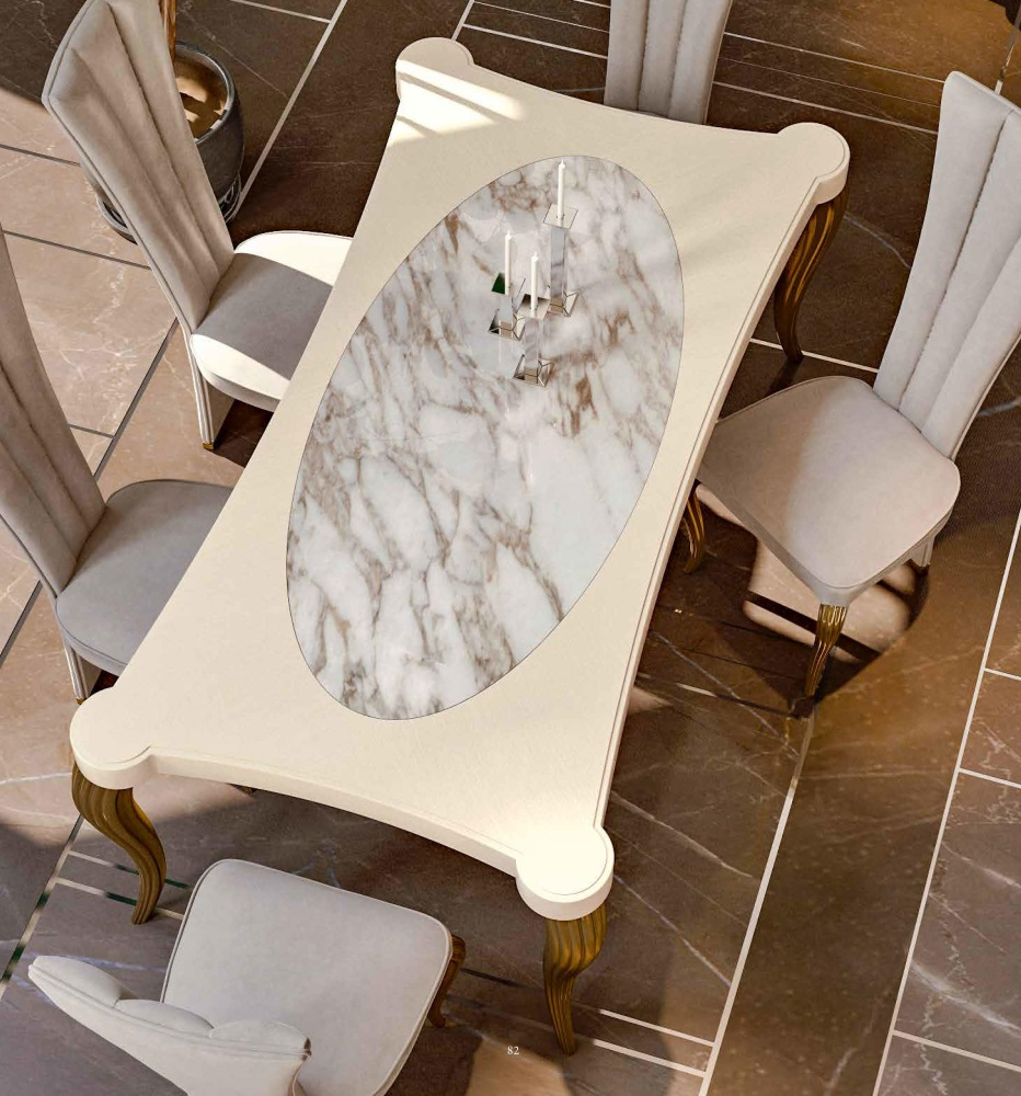 Стол с мраморной столешницей Valderamobili - Citrino
