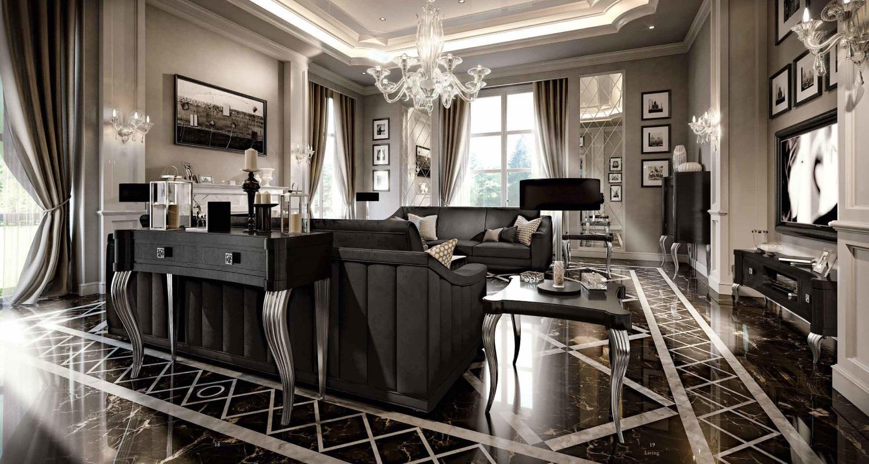 Мягкая мебель в стиле арт-деко Valderamobili - Berillo