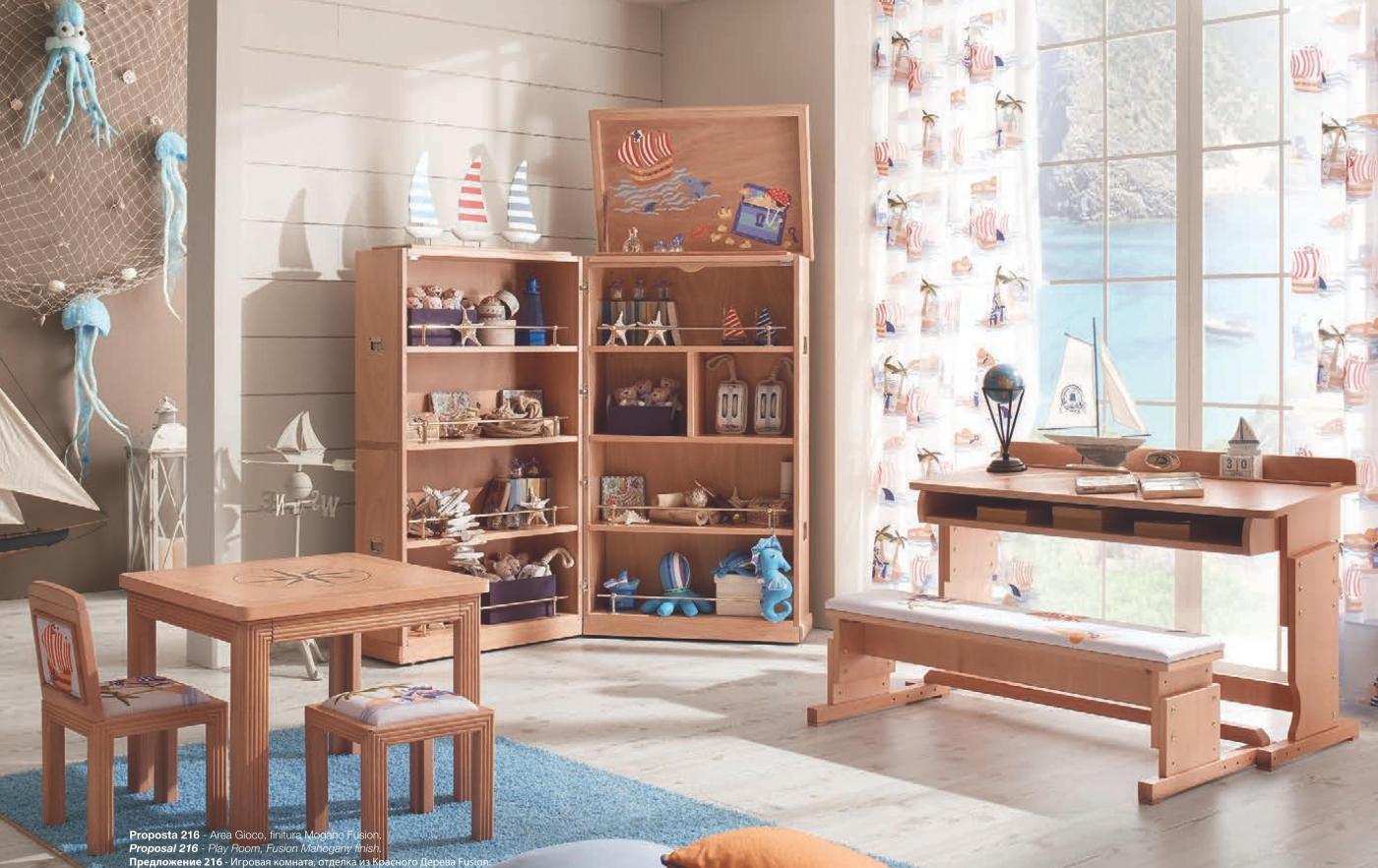 етская мебель в морском стиле