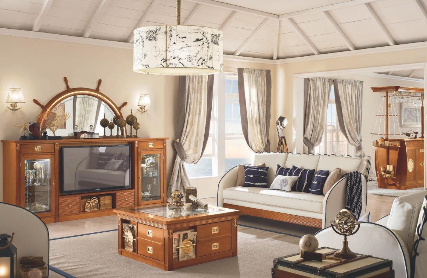 фото мебели в морском стиле