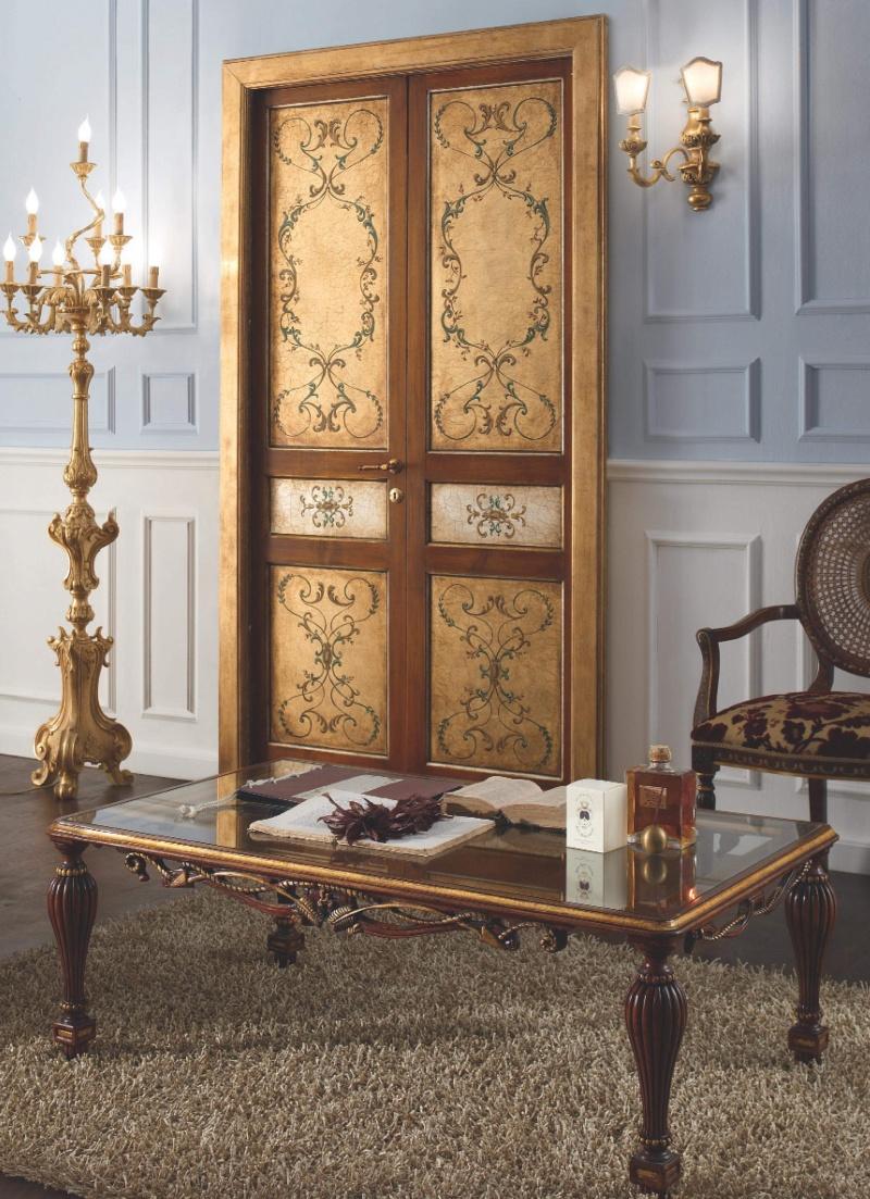 Журнальный столик для гостиной на резных ножках Giorno