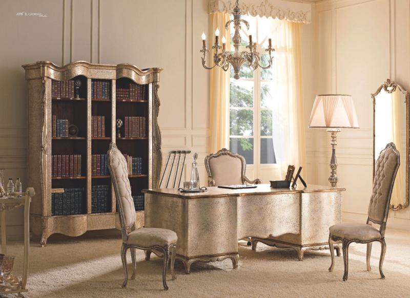 Домашняя патинированая кабинетная мебель Giorno