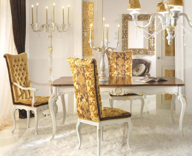Antico Borgo Extreme - белая столовая