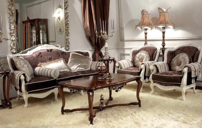 Antico Borgo Living - мягкая мебель в стиле арт деко