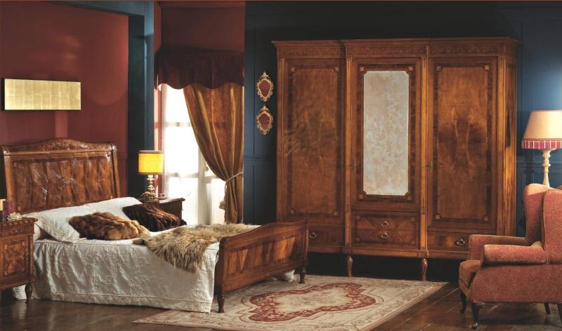 Antico Borgo Neoclassico - спальный гарнитур массив дерева