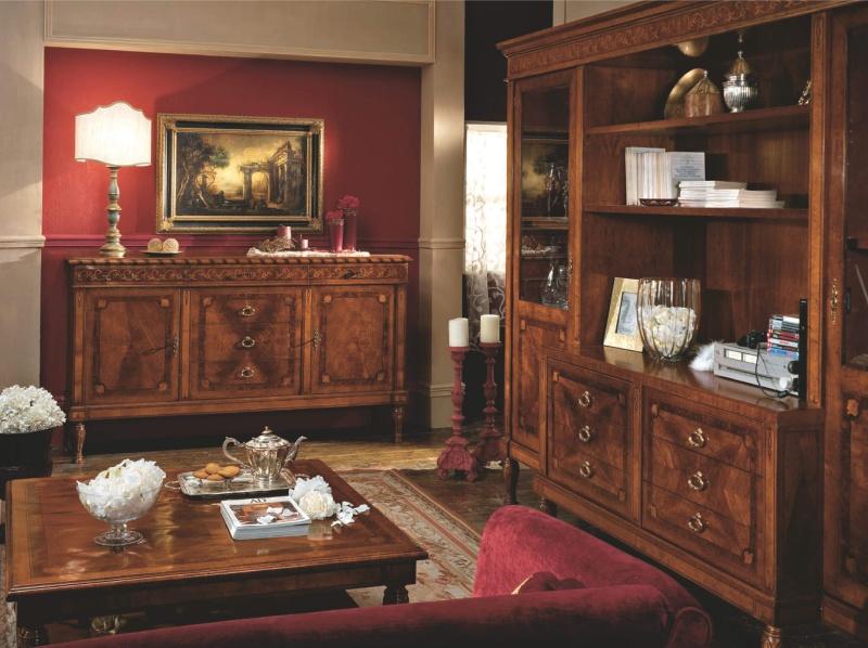 Мебель для столовой комнаты - цвет орех Antico Borgo