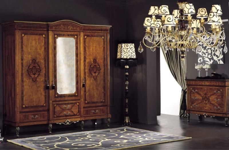 Antico Borgo Neoclassico Gold - шкаф массив