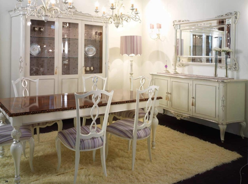 Гарнитур для столовой комнаты - стиль неоклассика Fiera Milano