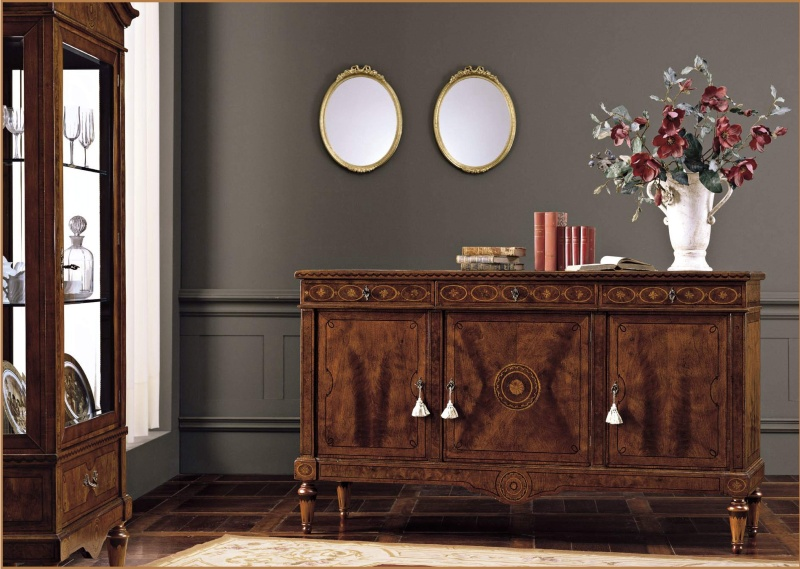 Комод - классический коричневого цвета Antico Borgo Ottocento