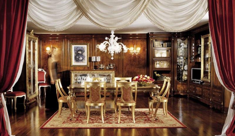 Гарнитур для столовой - стиль неоклассика Antonelli Moravio AM