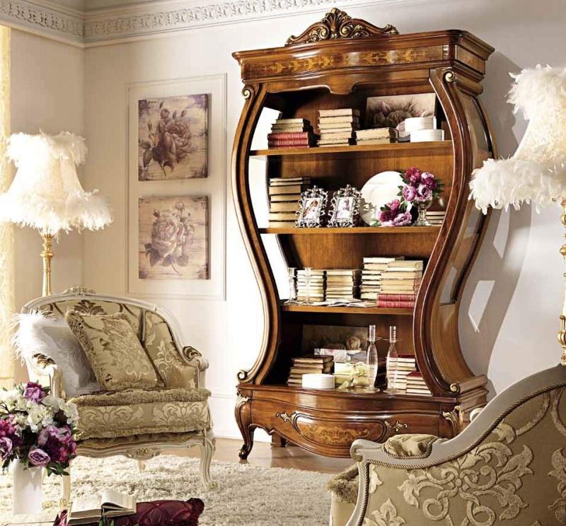 Комплект мебели в гостную в неокласическом стиле Antonelli Moravio AM