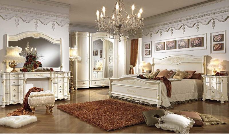 Спальный гарнитур - цвет белый Antonelli Moravio AM