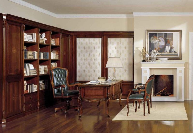 Домашний кабинет из массива дерева Antonelli Moravio AM