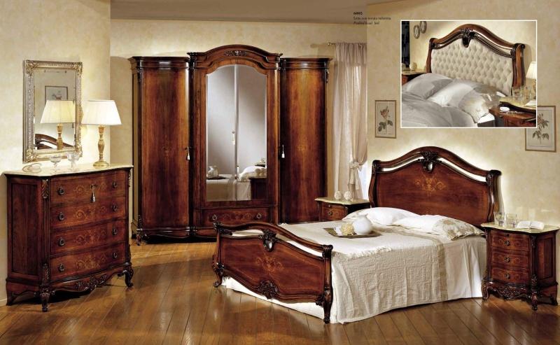 Спальный гарнитур с инкрустацией Antonelli Moravio AM