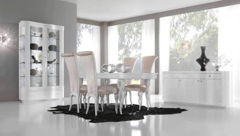Комплект мебели в столовую - цвет белый Stardust