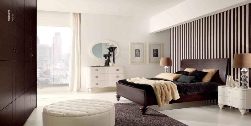 Итальянская спальня модерн - венге - Fashion Time Barnini Oseo