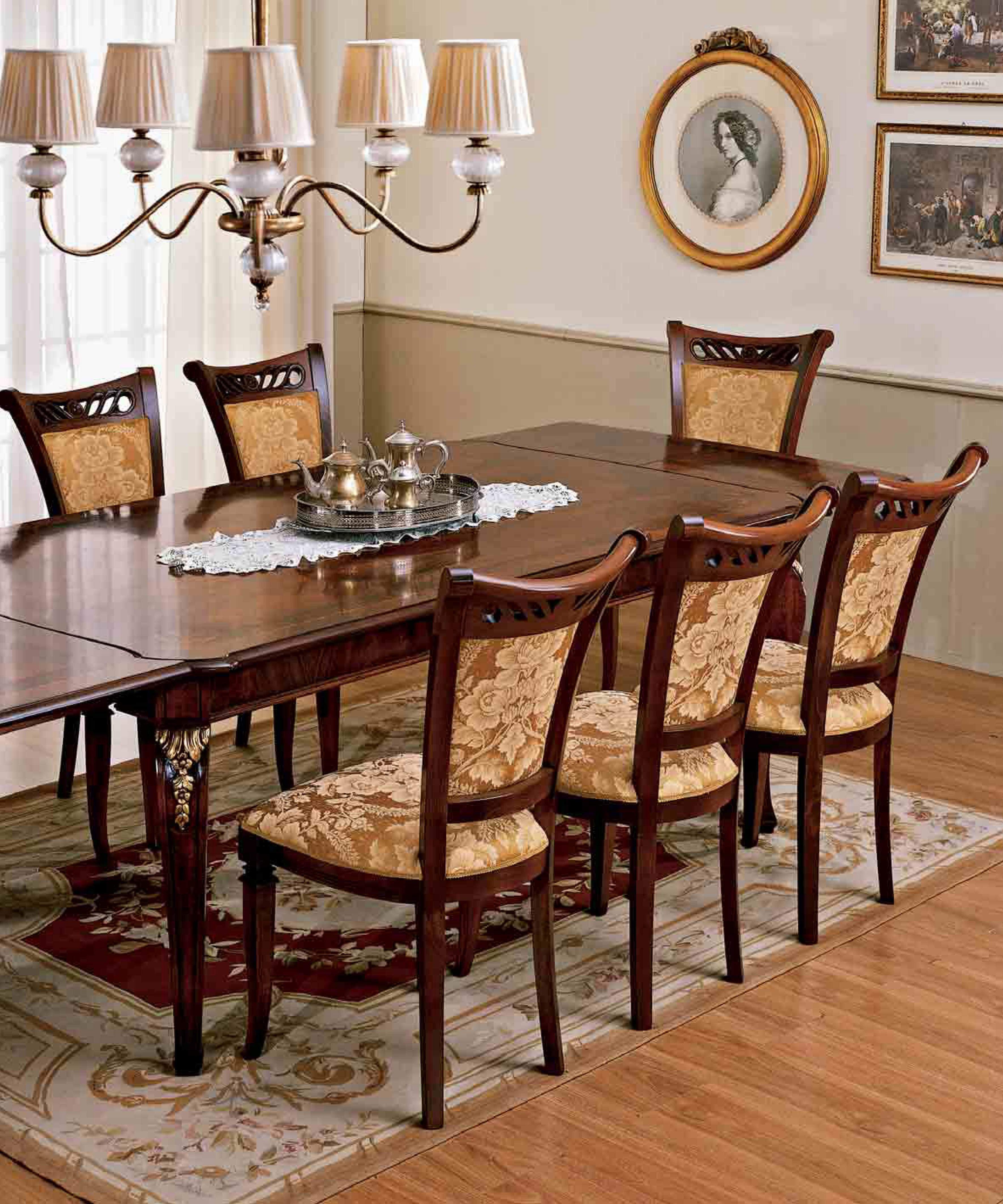 Стол и стулья для столовой Reggenza