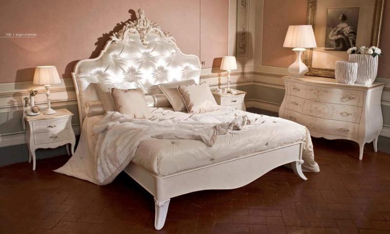 Белая мебель для спальни - Sogni d Amore
