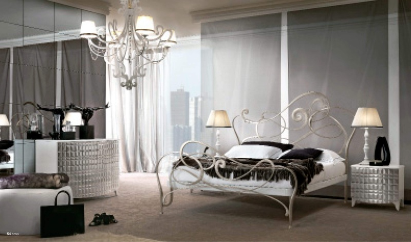 Кованная мебель для спальни - Италия - Bova Notte