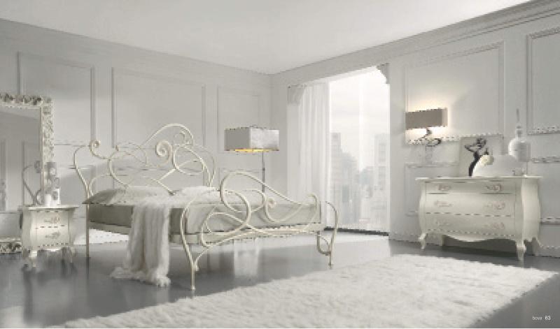 Кровать кованная Италия Bova Notte