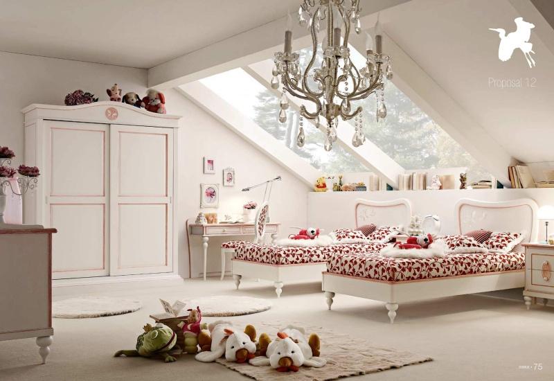 Детская мебель для двоих девочек Il Componibile