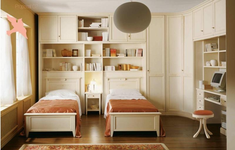 Детская комната для двоих детей Il Componibile