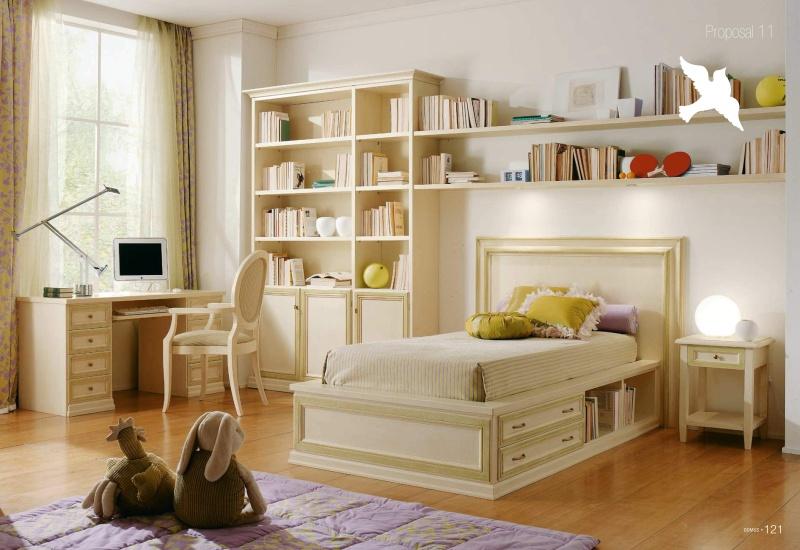 Комплект мебели в детскую - слоновя кость Il Componibile