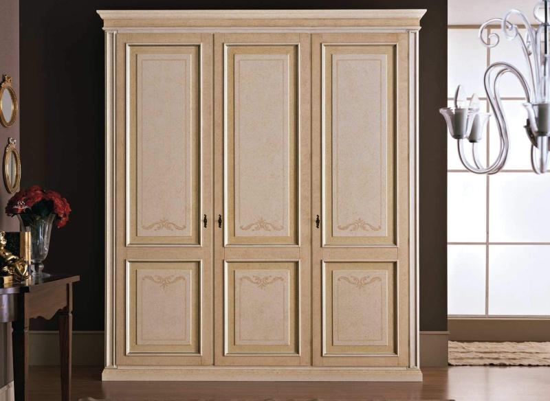 Трехдверный шкаф - классика - Tiziano 3 ante