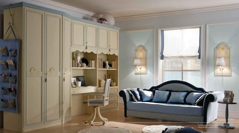 Детская комната для мальчика в классическом стиле Happy Night