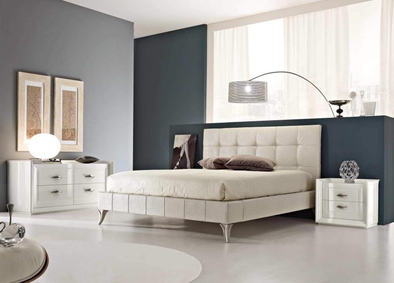 Кровать модерн в мягкой обивке - Today Ferretti