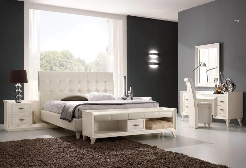 Спальный - домашний комплект мебели белого цвета Тоday Ferretti