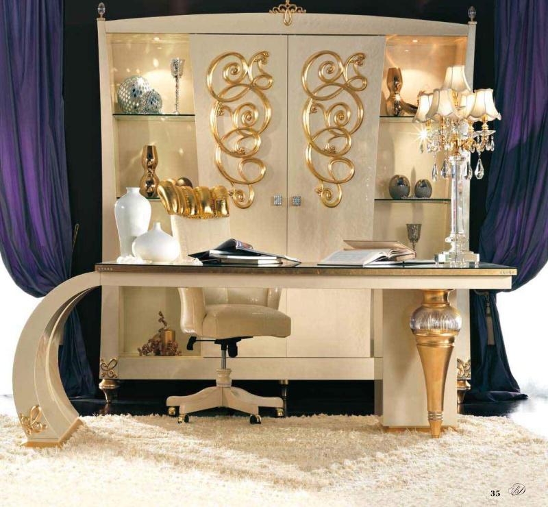 Мебель для кабинета арт деко - Blue Diamond Lanpas