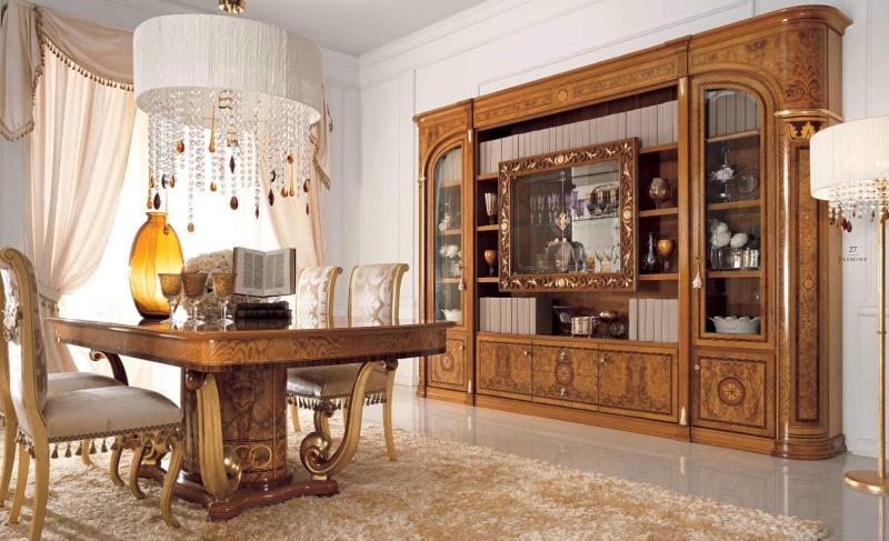 Столовый - домашний комплект Jasmine Valderamobili