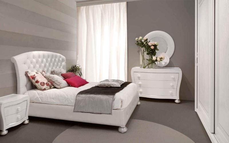 Комплект белой мебели для спальной комнаты Primavera Valderamobili