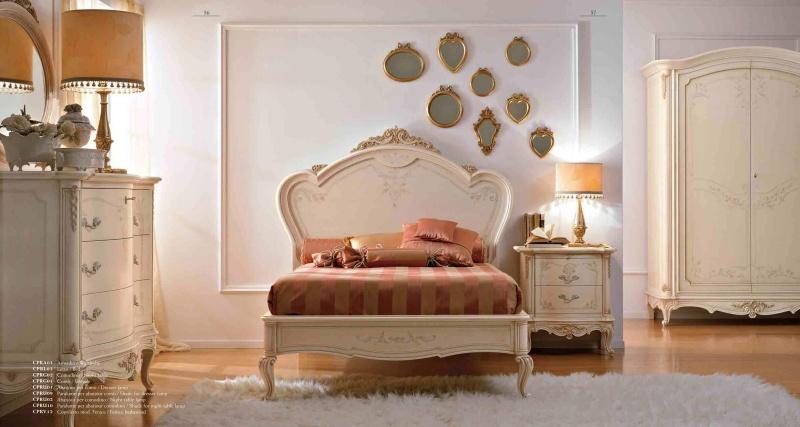 Спальная мебель бежевого цвета Principe