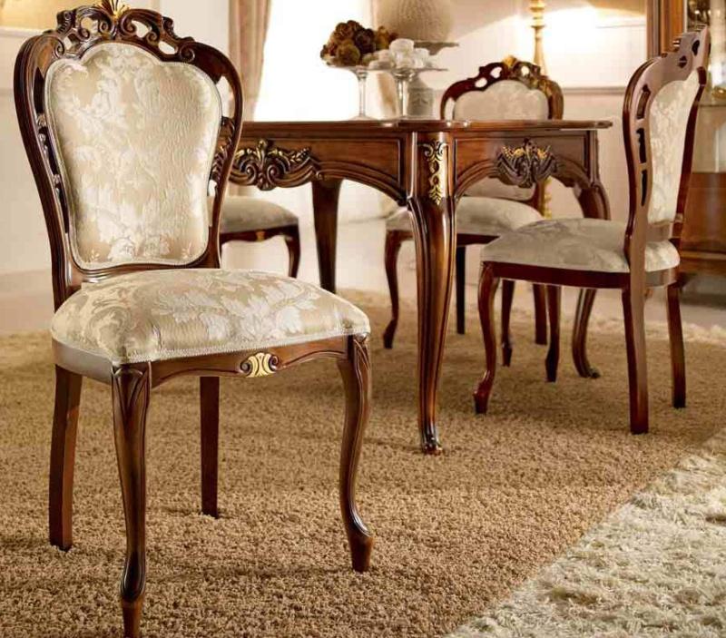 Стол и стулья для столовой комнаты - модель Principe
