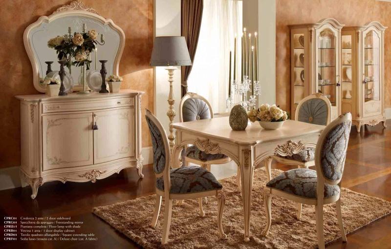 Комплект мебели в столовую из Италии Principe