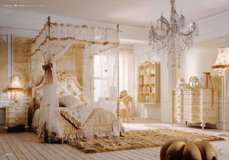 Мебель для детской - кровать с балдахином Romeo