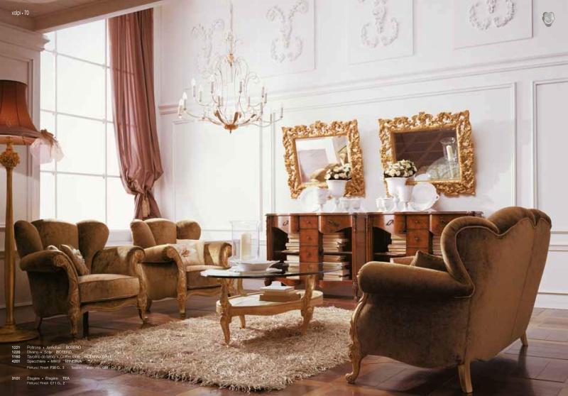 Мягкая мебель из Италиии в гостиную Day 2011
