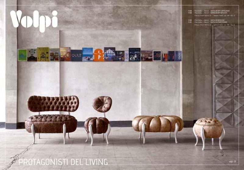 Набор классической итальянской - мягкой мебели Day 2011
