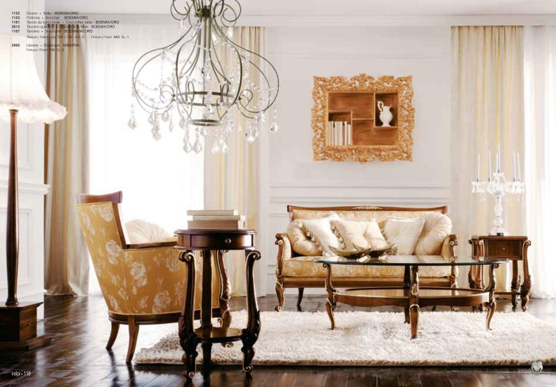 Класический гарнитур в гостиную Day 2011