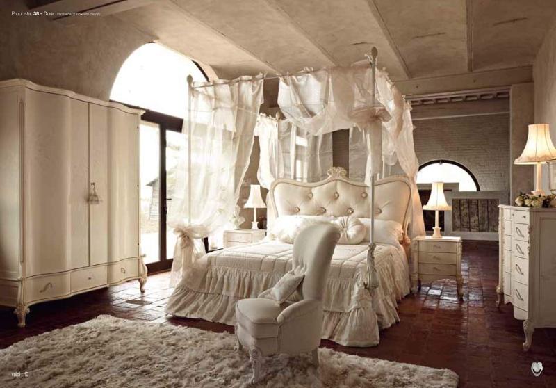 Спальная мебель в белом цвете Night 2011